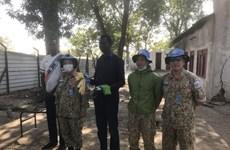 越南医生在南苏丹的突发任务