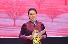国会主席阮氏金银:不断传播团结仁爱精神