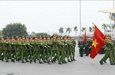 """公安力量进入""""新备战""""状态   确保越共十三大安全进行"""