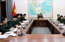 越南加强与中国和柬埔寨的边界管理和保卫工作合作