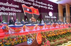 陈青敏致信祝贺老挝人民革命党第十一次全国代表大会取得圆满成功