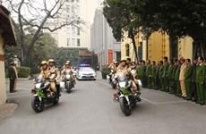 越共十三大:河内公安开展各种方案   全力保障治安秩序