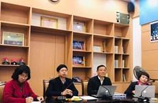 越南一流医生对岘港市肺科医院新冠肺炎危重症患者进行会诊