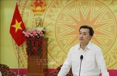 越南卫生部工作代表团莅临同塔省视察新冠肺炎疫情防控工作情况