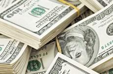 22日上午越盾对美元汇率中间价持续上调