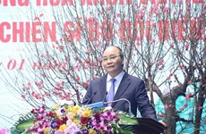 阮春福总理:边防部队全力以赴有效打击非法入境活动