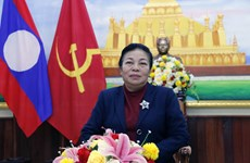 老挝人民革命党中央对外联络部部长:越南共产党领导越南取得举世瞩目的成就