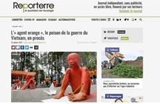 """法国媒体:陈素娥女士起诉美国化学公司案件是""""历史性案件"""""""