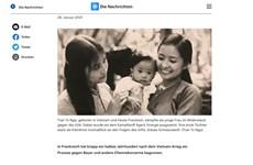 德国媒体强调陈素娥为橙剂受害者作斗争的坚定决心