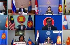 第十七次东盟—俄罗斯高官会以线上会议方式召开