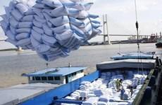 按照越英自贸协定输出英国的越南首批60吨大米正式上市