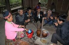 来越南各民族文化旅游村体验克木族谷如节
