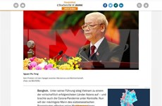 越共十三大:德国媒体突出了越南经济发展展望