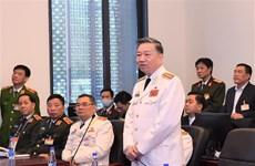 公安部部长对越共十三大安全保护工作进行检查