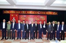 阮春福总理春节前走访慰问广南省优抚家庭和困难群众