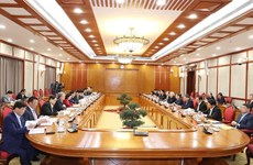 第十三届越共中央政治局召开第一次会议:聚焦国会代表选举和新冠疫苗购买、接种工作