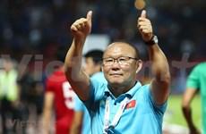越南男子足球队主教练朴恒绪:将完成2022年世界杯亚洲区预选赛的目标