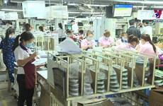 春节后胡志明市各家企业严格落实防疫措施