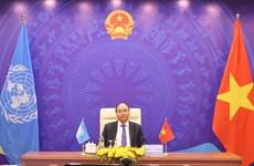 越南与联合国安理会:阮春福总理以视频形式出席联合国安理会高级别公开辩论会
