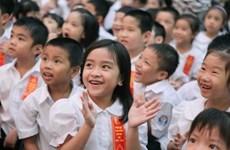 越南加强儿童关爱教育与保护工作