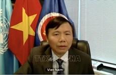 越南出席安理会关于国际法上使用武力和正当自卫权问题的视频会议