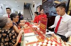 今日越南国内市场黄金价格保持稳定