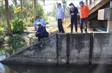 从今年3月至8日北部河流缺乏水量约20-30%   南部继续遭受海水入侵