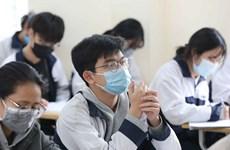 新冠肺炎疫情:河内市学生自3月2日起返校上课
