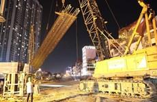 河内市加快重点工程施工进度