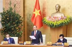 政府总理阮春福:继续集中精力实施各项重要和紧迫性的任务