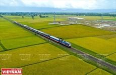 研究建设胡志明市至芹苴市高速铁路