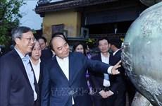 政府总理阮春福:尽早完善承天顺化省特殊政策草案