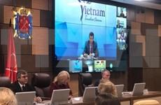第二次圣彼德堡与越南国际旅游论坛以视频方式举行