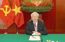 各国政党领导和国际友人继续致电和致函祝贺越共中央总书记、国家主席阮富仲