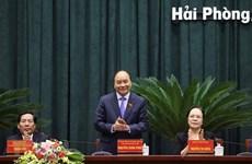 越南政府总理阮春福:将海防市打造成为跨国集团的目的地