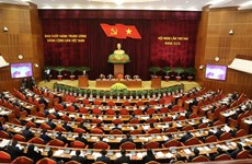 越南共产党第十三届中央委员会第二次中央委员会全体会议在河内开幕