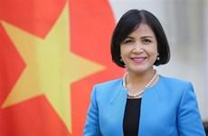越南驻日内瓦代表团纪念国际妇女节111周年和双征夫人起义1981周年