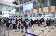 2021年前两个月越南各家航空公司的准点率接近96%