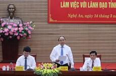 政府总理阮春福:乂安省需从广度转向深度发展