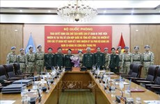 阮志咏上将:使越南旗帜插遍世界维和地图