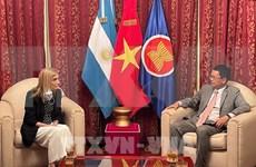 阿根廷国家通讯社希望与越南通讯社加强合作