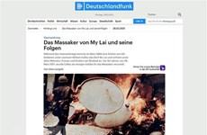 德国历史学家:广义省美莱大屠杀是可怕的战争罪行