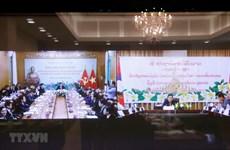 越南共产党与老挝人民革命党视频会议召开