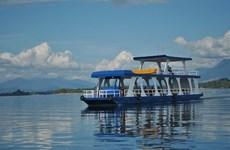 前老挝人民革命党中央委员会总书记、国家主席朱马里在游艇翻船事故中安然无恙