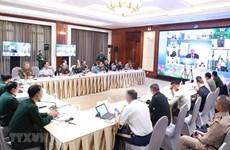 东盟国防高级官员工作组扩大会议以视频方式召开
