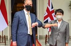 英国与东盟促进合作关系