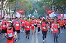 2021年第四届Techcombank杯胡志明市国际马拉松赛吸引1.3万人参赛