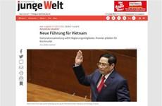 德国媒体高度评价越南的新领导班子