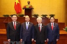 外国领导人继续发来贺电贺函 祝贺越南新一届领导人