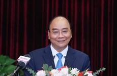 国家主席阮春福:希望广南省和岘港市成为中部地区经济增长的动力
